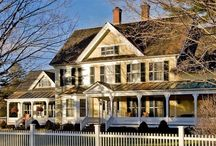 Bed and Breakfast Dream / Beautiful Bed and Breakfasts I would call my own.  Architecture and decor. / by Katherine Walsh