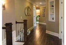 Hall. / Inspiration for the hallway. / by Marilla @ Cupcake Rehab ✔