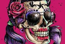 Zombies/Skulls/Psychobilly / by Nakirah Bordley