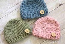 Crochet hats / by Elizabeth Lusignan