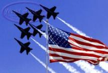 Let Freedom Ring, Military. / Men and women defending my country.  Leaving loved ones behind at home.  To stand for freedom of all.  Some of those men and women will come home.  Others are a memory in their loved ones heart.  Respect I have for these people who give their all.  Always remembered by me.   (1-11-2014)  / by Mae L. Emenheiser