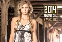 Camo Swimsuits | Realtree Camo Swimwear / The best way to show your love for the outdoors is to enjoy the warm temperatures and cool water in Realtree camouflage swimsuits and bikinis! / by Realtree