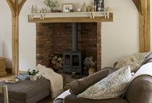 Family rooms & Fireplaces / Ideas and references for redecorating my family room. / by Lily