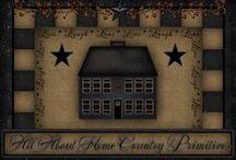 PRIM★SALTBOX HOUSE DECOR / by Tina Richer