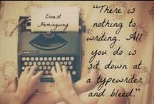 Writing Tips / I love to write. Here are tips and quotes for writers. / by Alycia Morales