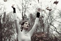 """  Autumn's New Leaf   / """"Every leaf speaks bliss to me, fluttering from the Autumn tree.""""   Emily Bronte / by Lace & Velvet {Vintage}"""