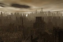 Inspiration: Dystopia / Inspirations for Dystopian stories / by Hannah Moffat Loki Moriarty McManus