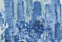 The Color Blue / by Anna Tsantrizou