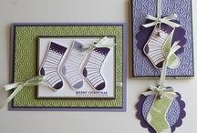 paper cards - christmas stocking / by Susan Harwell Hendrick