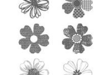 paper cards - flowers- flower shop / by Susan Harwell Hendrick