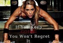Fitness Motivation / by Christa Lubbe