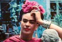 Art - Frida Kahlo / by Katalin Holmgren