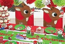 Party & Movie Night! / Great decorations, ideas and games for a  holiday themed, classroom or 50th Anniversary Rudolph the Red-Nosed Reindeer movie night party. Become part of our tradition! / by Rudolph's 50th Anniversary