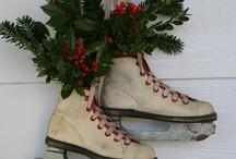ice skate decor / by Peg Balogh