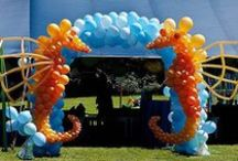 We can do these ideas for you / Idea's we've seen on other boards that we can recreate for you / by Andon Balloons & Signs