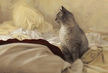 Cat Lovers Art / by Kristen