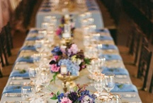 Wedding: Centrepieces And Table Setting Ideas / by Tammy Cox