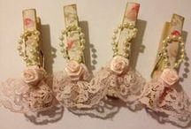 Altered Pegs / by ~ Kylie ~
