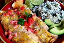 mexican recipes / Authentic Mexican recipes, Mexican American recipes, Tex Mex recipes, Taco Bell recipes / by Erika Renee