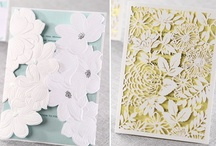 Unique Wedding Paper / Beautiful wedding invitations and stationary to spark creative ideas. Curated by #WizzleyWeddings. / by Wizzley Weddings