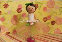 Wooden Dolls / by Kathy Offord