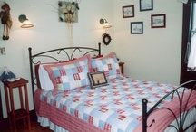 Our Rooms / Maplebird House Bed & Breakfast features 4 Queen rooms with ensuite bathrooms. Each include hairdryer, toiletries, extra towels, clock radio, fans and a basket of books. / by Maplebird House Bed & Breakfast