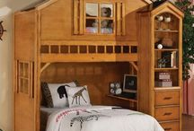 Children's room ideas / Shared bedrooms, Disney themed, Train themed, outdoor and camping themed, Princess themed, bedrooms for girls, bedrooms for boys, loft beds, bunk beds. / by Sandi Davis