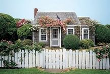 the dry oyster & her Little Cottages / Cottages, playhouses, and Dreams. The tiny little structures hold but a few cherished items, but hold many many memories. / by Dry Oyster