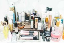 Beauty Essentials  / Skin care regimen. Beauty routine. Getting dolled up. Make-up items  / by Aida