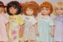 Dolls / I love dolls and dollclothes / by Claudia (Inchy) Hillesheim