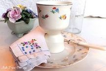 Vintage Egg Cups ~ Cosies / by Victorian Rose