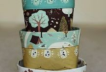 Fabric Boxes Tutorials / by Claudia (Inchy) Hillesheim