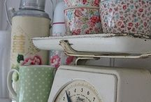 Antiques and vintage things I love / Rustic Antiques & Vintage decor  / by Mary Costello
