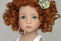 Baby Dolls & Teddy Bears / Dolls, figures and cuddly- wuddly friends / by TinaMarie