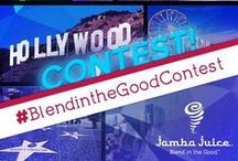 #JambaJuice #BlendintheGoodContest / Good Things Come to Those Who Blend!  Jamba Juice wants to see you Blend in the Good™ through dance this summer.  This month you can win a FREE trip to NYC and tickets to a broadway show!  Details: http://danceon.com/contest/blend-in-the-good / by DanceOn