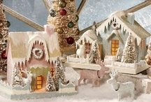 Putz Paper Houses / by TheHolidayBarn.com