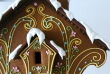 Gingerbread Houses / by TheHolidayBarn.com
