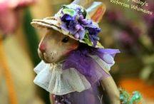 Easter / Bunnies, chicks, goodies and settings / by Sherri MacRaild