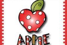 Apple theme / by Diane Fangmeyer