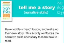 Toddler-High Five Reading Tips / by Chandler Library