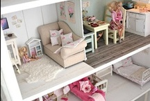 Dollhouses / A board to feed my miniature obsession.  / by Jennifer Burbank