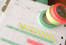 Organization / Tips and tricks to keep your life on track. / by Erica Goldstein