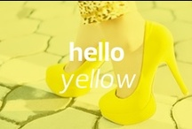 Hello Yellow! #MBFW / by Mercedes-Benz Fashion Week