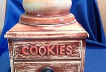 Vintage Cookie Jars / by Misti Perkins