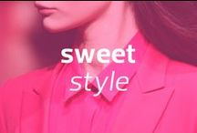 Sweet Style / Looking good has never been so sweet!  Brought to you by Sweet'N Low, America's favorite little pink packet! / by Mercedes-Benz Fashion Week