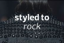 Styled to Rock / Powered by Style Network and inspired by fall's hottest trend #MBFW / by Mercedes-Benz Fashion Week