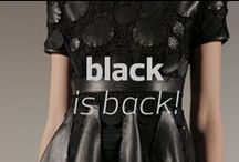 Black is Back #MBFWB / Trending at #MBFWB classic and clean black looks  / by Mercedes-Benz Fashion Week