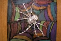 dieren: spinnen / by Marjan van Sluijs-Kruse