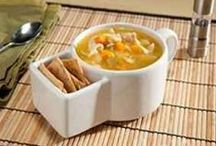 Bowls of SOupS~~~~ / Think of my Mom~Best Soup Maker~ / by Ms. T