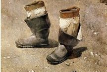 Wyeth, Andrew Newell / Andrew Wyeth / by Martin van Els